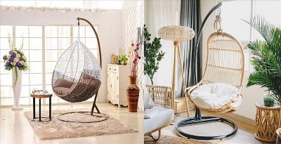 Độc đáo với 5 mẫu ghế treo cho không gian thư giãn tại nhà
