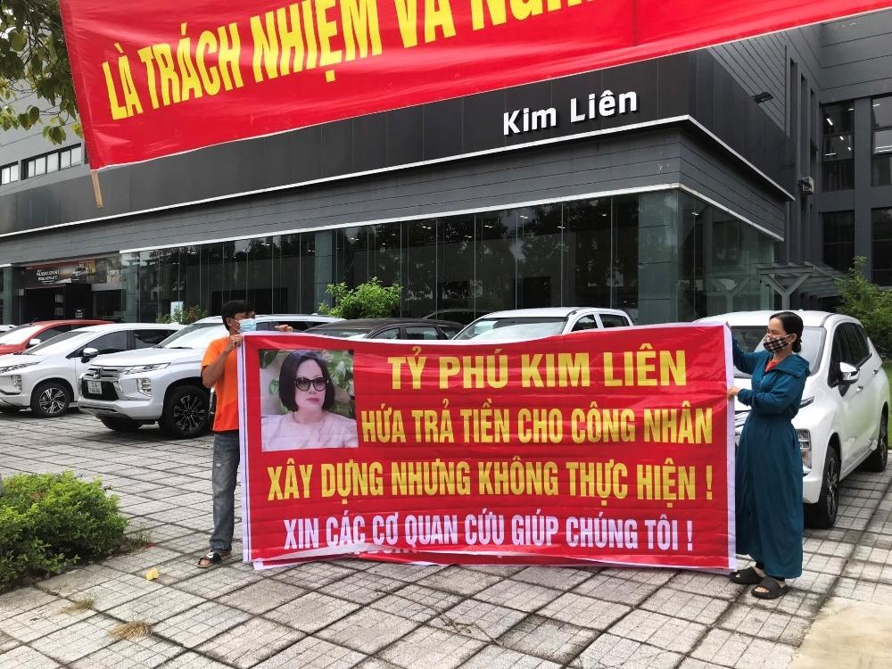Quảng Bình: Chủ sỡ hữu đại lý ôtô Kim Liên Đồng Hới bị tố nợ tiền nhà thầu, chây ỳ không trả?