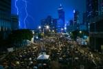 Biểu tình Hồng Kông nóng trong ngày Quốc khánh