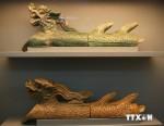 Trưng bày hiện vật quý phát hiện tại Hoàng Thành Thăng Long