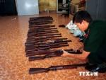Bà Rịa-Vũng Tàu: Thu giữ gần 100 súng hơi lậu giấu dưới đáy tàu