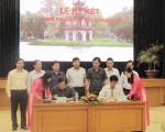Viện Kiến trúc Quốc gia ký kết thỏa thuận hợp tác nghiên cứu với quận Hoàn Kiếm