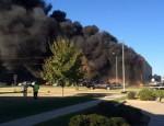 Mỹ: Máy bay đâm vào tòa nhà, hàng chục người thương vong