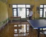 TT-Huế: Nguy hiểm trường học bị lún gần 1 mét