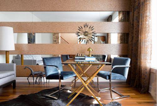 183042baoxaydung image014 Thiết kế nhà phòng khách hiện đại với gương trang trí