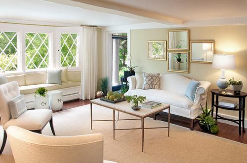 183044baoxaydung image017 Thiết kế nhà phòng khách hiện đại với gương trang trí