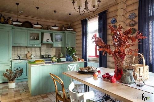 162714baoxaydung image002 Thiết kế căn bếp sang trọng với nội thất gỗ đơn giản