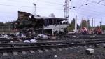 Tàu hỏa đâm xe khách ở Nga, 16 người chết
