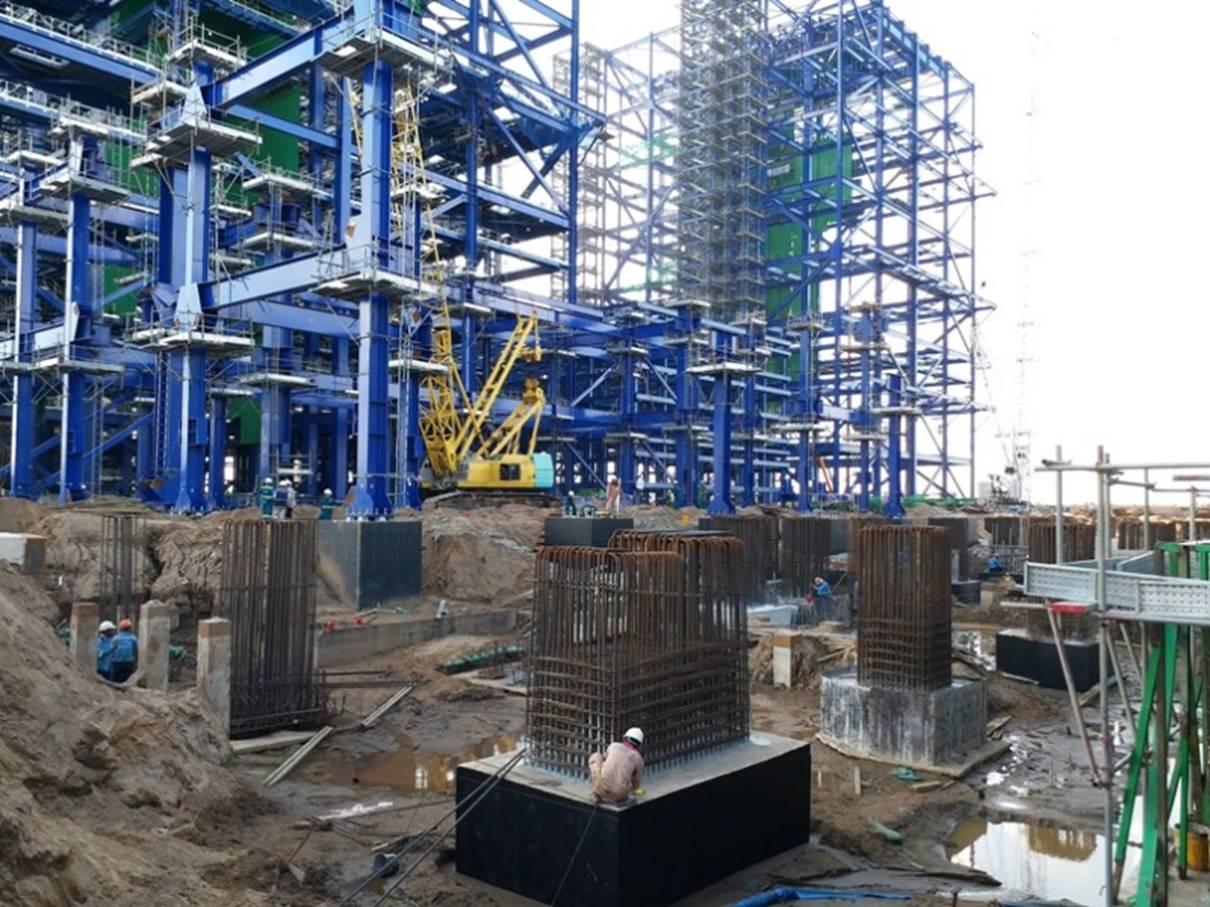 BDCC tập trung thi công Dự án nhiệt điện điện Long Phú 1