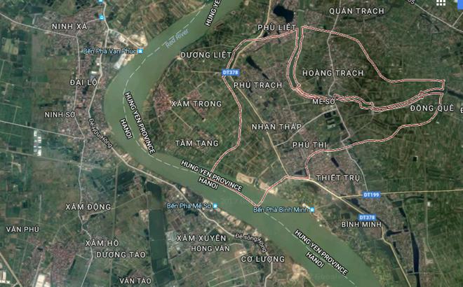 Hà Nội: Gần 4.900 tỷ đồng xây dựng cầu Mễ Sở vượt sông Hồng