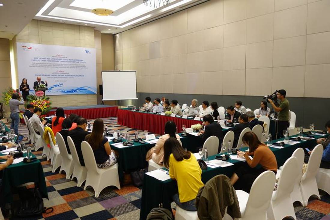 Hợp tác đào tạo nhân lực ngành nước Việt Nam