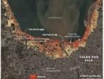 Toàn cảnh những khu vực bị tàn phá sau thảm họa động đất Indonesia