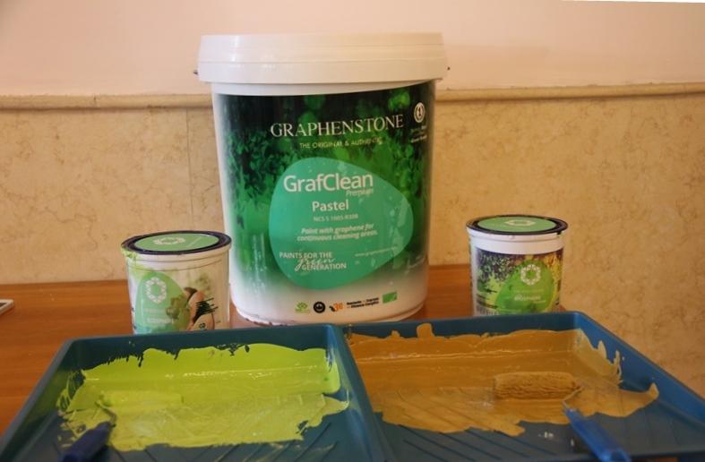Ra mắt sản phẩm sơn sinh thái Graphenstone tại Đà Nẵng: Cuộc cách mạng về sơn