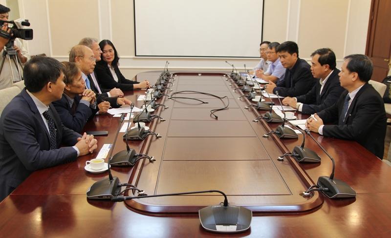 Thứ trưởng Lê Quang Hùng tiếp Tập đoàn tư vấn xây dựng Apave