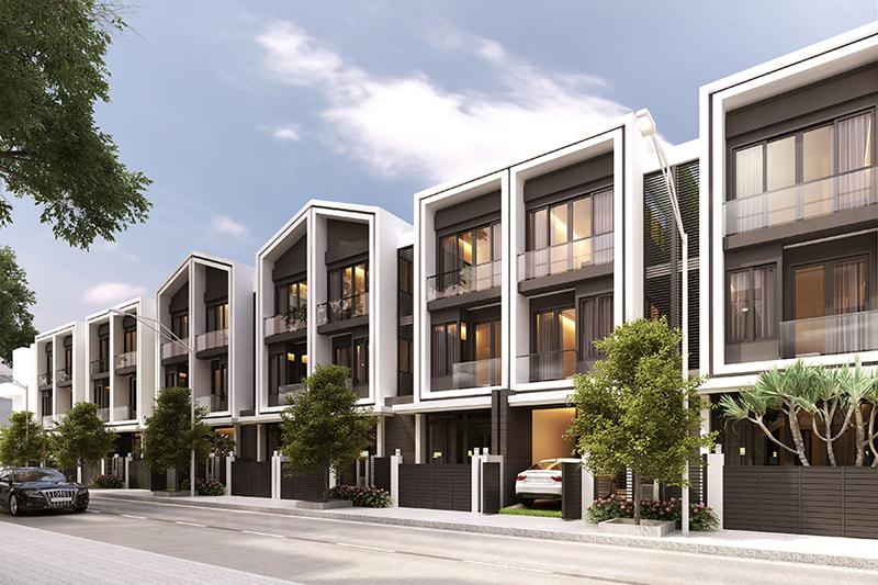 Thẩm quyền cấp phép xây dựng dự án khu nhà liên kế