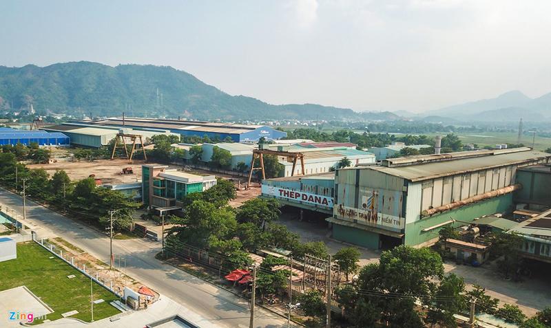 Cảnh hoang tàn ở nhà máy thép của doanh nghiệp kiện Đà Nẵng đòi 400 tỷ