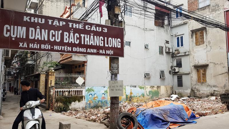 Đông Anh (Hà Nội): Người dân mong mỏi việc thu hồi đất của Cty Cầu 3 Thăng Long để làm điểm sinh hoạt cộng đồng dân cư