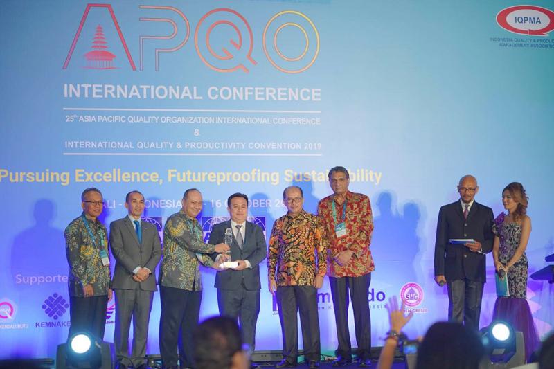 Tổng Cty Viglacera – CTCP nhận Giải thưởng Chất lượng quốc tế châu Á – Thái Bình Dương 2019 hạng World Class