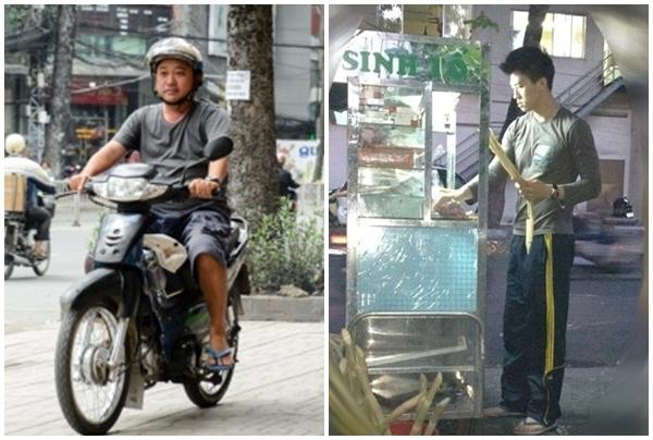 Sao Việt người bán kem, người chạy xe ôm không sống được bằng nghề