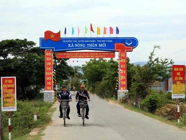 Đến hết năm 2019 Ninh Thuận sẽ có 25 xã và một huyện đạt chuẩn nông thôn mới