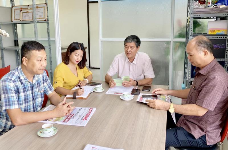 Báo Xây dựng triển khai công tác tuyên truyền Đại hội Đảng các cấp