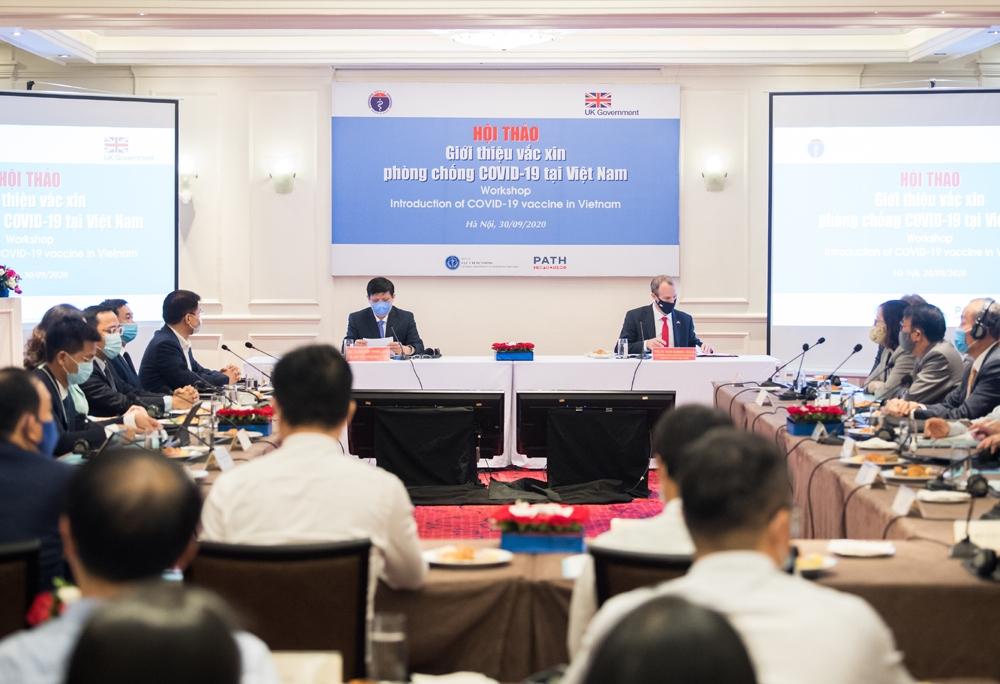 Giới thiệu vắc xin phòng chống Covid-19 tại Việt Nam