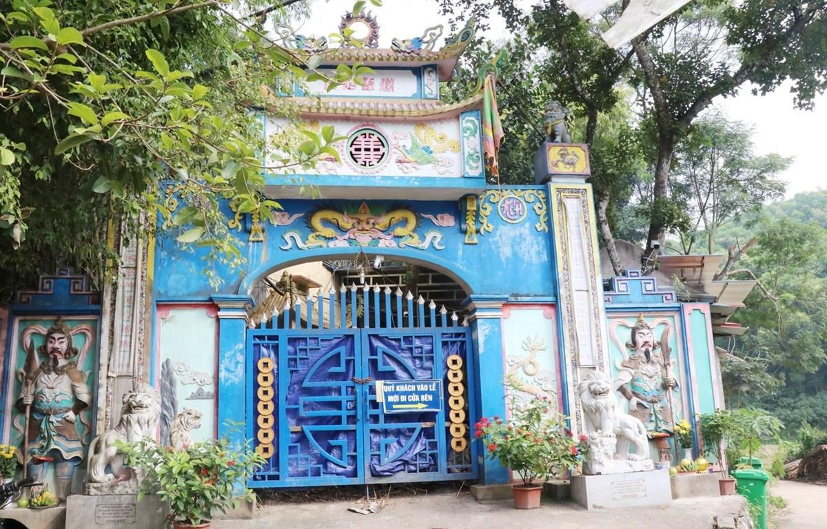 Xử lý sai phạm trong sử dụng đất, hoạt động tín ngưỡng ở đền Đá Thiên