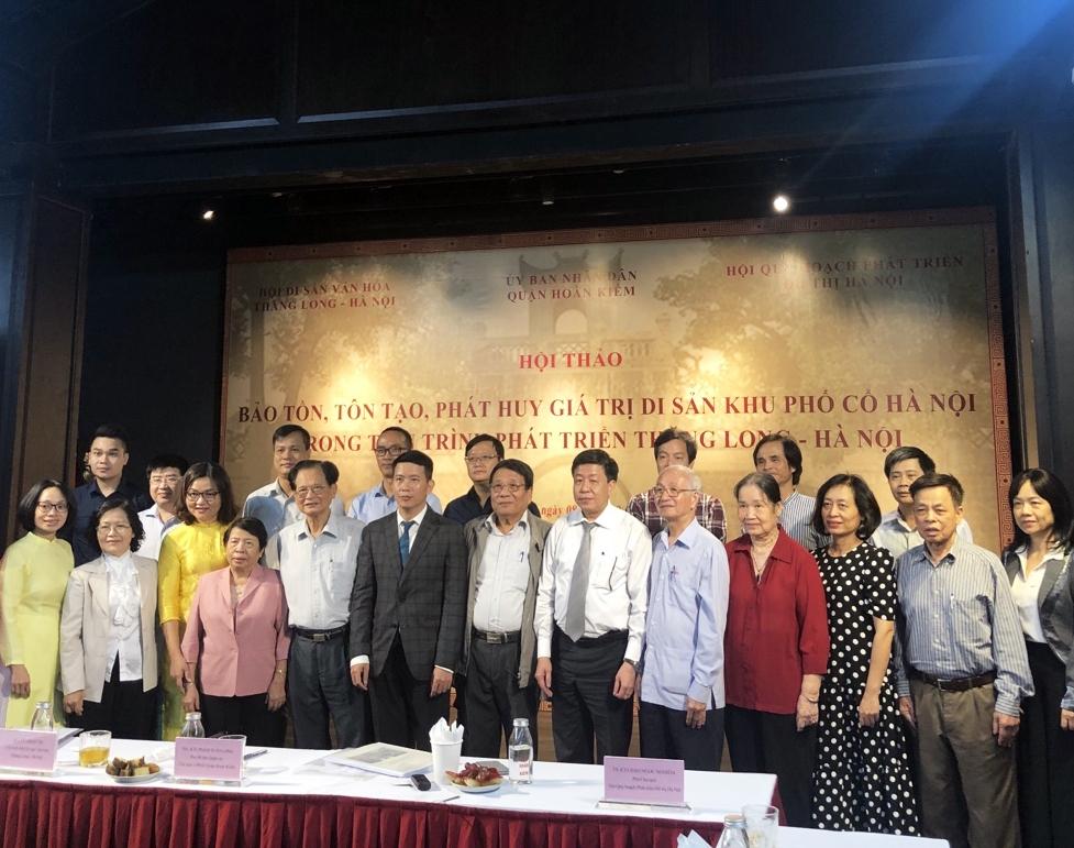 Bảo tồn, tôn tạo, phát huy giá trị di sản khu Phố cổ Hà Nội trong tiến trình phát triển Thăng Long – Hà Nội