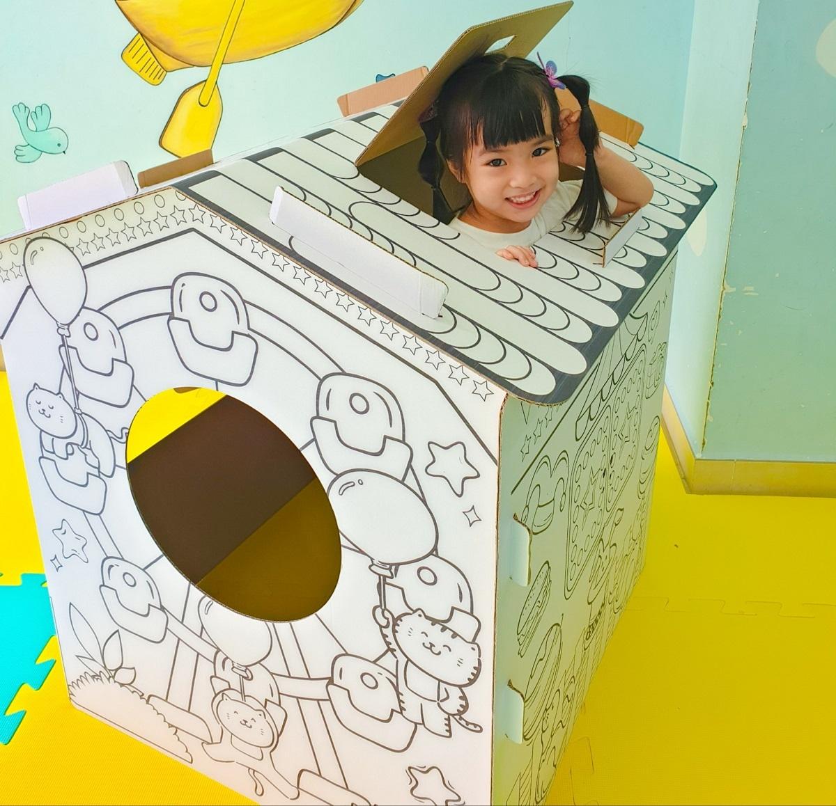 SCG ra mắt sản phẩm đồ chơi bằng giấy