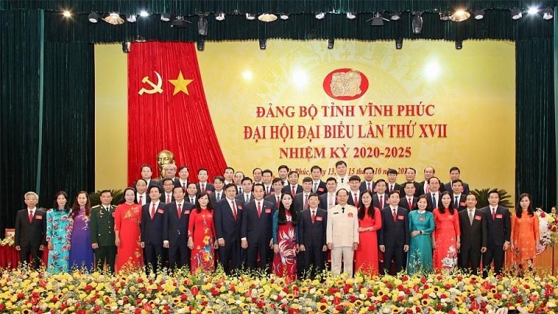 dong chi hoang thi thuy lan tai dac cu bi thu tinh uy vinh phuc nhiem ky 2020 2025