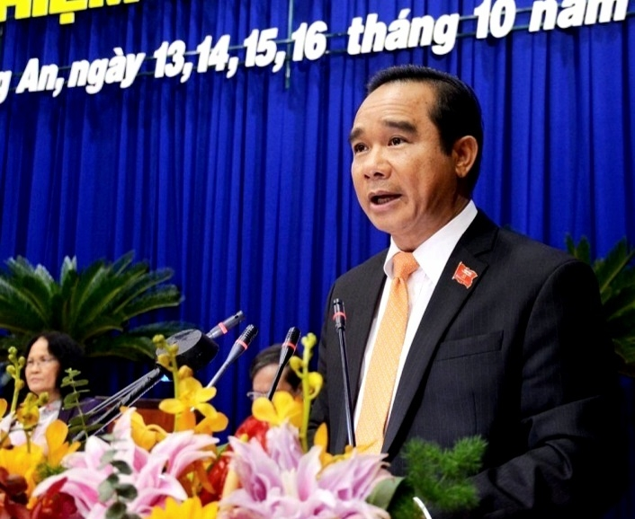Đồng chí Nguyễn Văn Được được bầu giữ chức Bí thư Tỉnh ủy Long An