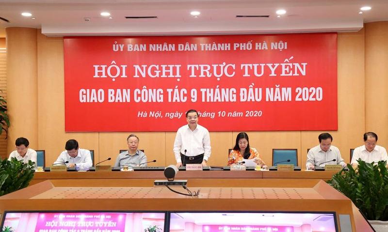 Hà Nội: Phấn đấu hoàn thành cao nhất các chỉ tiêu kinh tế - xã hội năm 2020