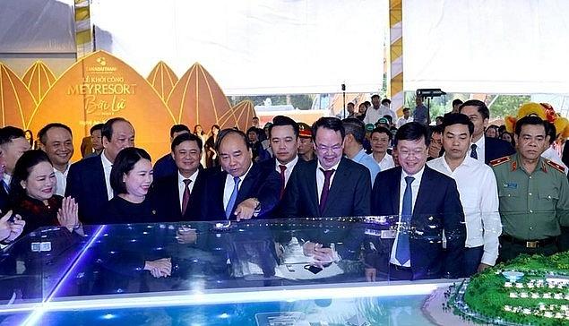 thu tuong chinh phu du le khoi cong du an meyresort bai lu giai doan 2