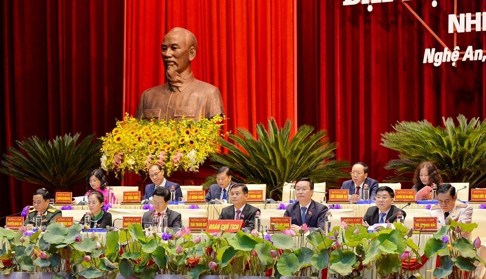 Đại hội đại biểu Đảng bộ tỉnh Nghệ An lần thứ XIX họp phiên trù bị