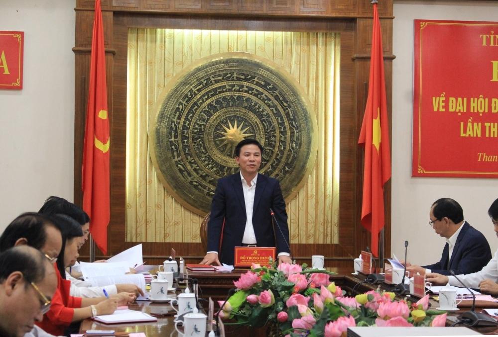 Thanh Hóa: Hoàn thành Đại hội các cấp cơ sở, chuẩn bị tiến tới Đại hội đại biểu Đảng bộ tỉnh lần thứ XIX