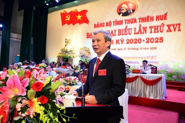 khai mac dai hoi dai bieu dang bo tinh thua thien hue nhiem ky 2020 2025
