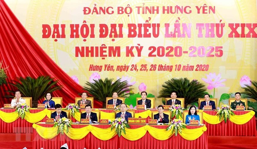 Khai mạc Đại hội đại biểu Đảng bộ tỉnh Hưng Yên lần thứ XIX