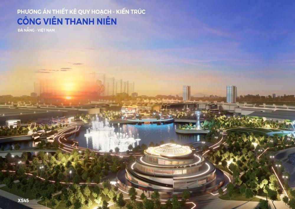 Đà Nẵng: Công bố tuyển chọn phương án thiết kế quy hoạch, kiến trúc Công viên Thanh niên