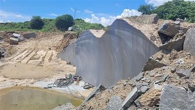 Gia Lai: Ngăn chặn tình trạng khai thác đá trái phép ở Đắk Pơ