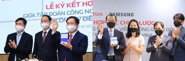 Samsung và Viettel ký kết hợp tác chiến lược phát triển toàn diện thúc đẩy chuyển đổi số
