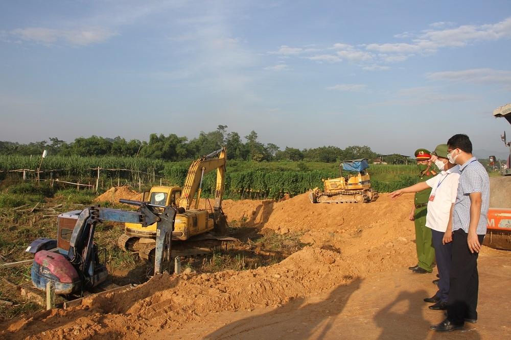 Tam Đảo (Vĩnh Phúc): Cưỡng chế thu hồi đất thực hiện dự án trường Trung học cơ sở Đại Đình