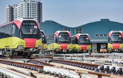 Đường sắt Nhổn-ga Hà Nội sẽ chạy thử 10 đoàn tàu vào tháng 12