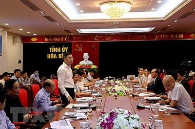 Gấp rút chuẩn bị điều kiện triển khai tuyến cao tốc Hòa Bình-Mộc Châu