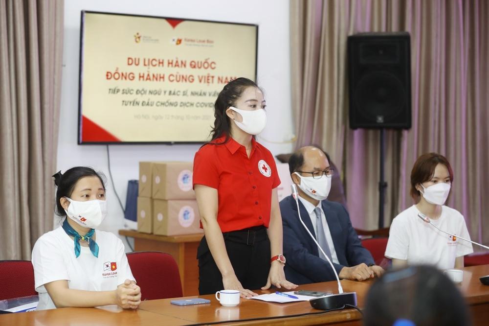 Tổng cục Du lịch Hàn Quốc tiếp sức đội ngũ y bác sỹ Việt Nam tuyến đầu chống dịch