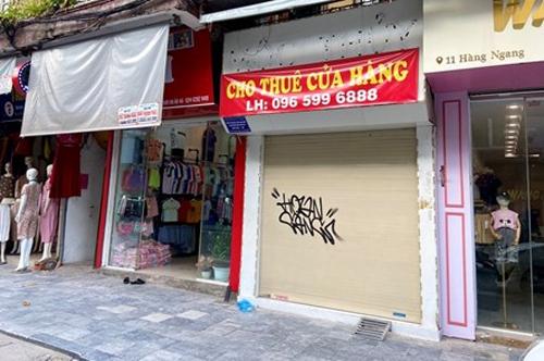Mặt bằng cho thuê nhà mặt phố tại Hà Nội tiếp tục bị ảnh hưởng nặng nề vì dịch bệnh