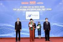 sunshine group duoc vinh danh trong top 10 thuong hieu manh viet nam nganh bat dong san xay dung