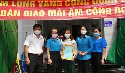 Cần Thơ: Trao Mái ấm Công đoàn cho đoàn viên khó khăn tại huyện Cờ Đỏ