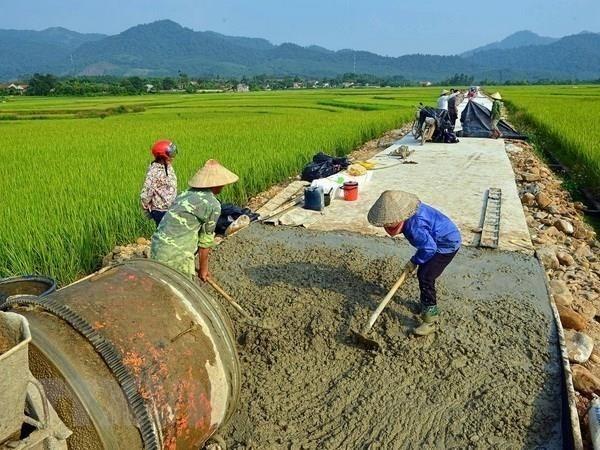 Triển khai Chương trình mục tiêu quốc gia xây dựng nông thôn mới