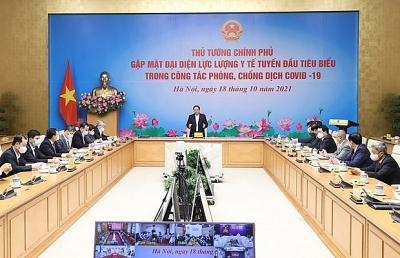 Thủ tướng: Vai trò của lực lượng tuyến đầu còn rất nặng nề