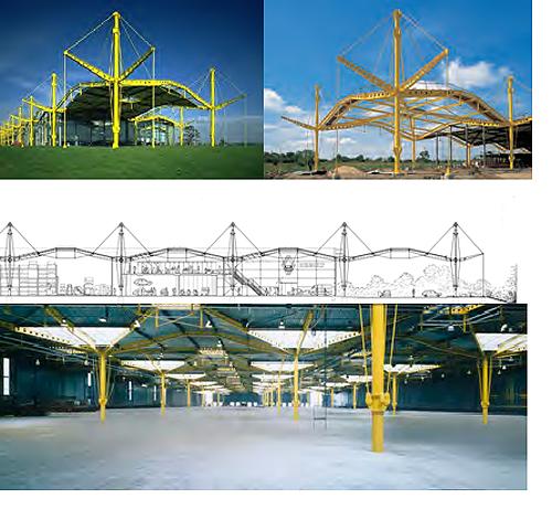 5 Cùng nhìn qua Kiến trúc High – Tech và biến thể của kiến trúc đương đại
